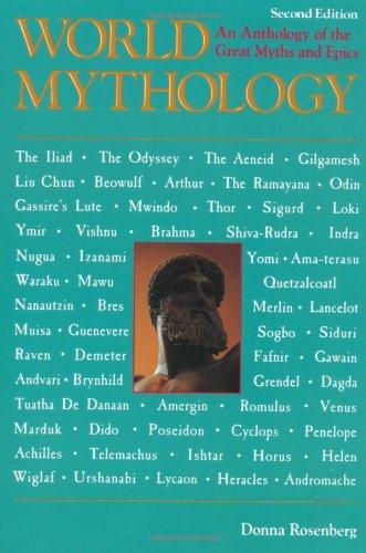 world mythology rosenberg - 2