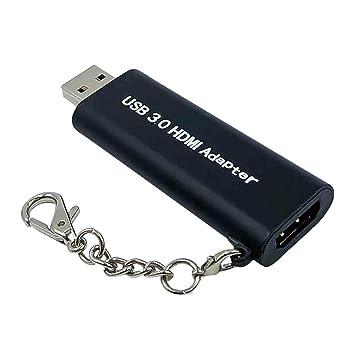 gazechimp Cable Adaptador USB 3.0 a Hdmi para PC Portátil ...