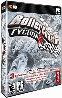 Amazon com: Rollercoaster Tycoon 3 Platinum - PC: Video Games