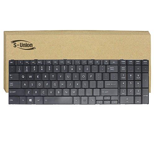 Generic New Black Laptop US Keyboard for Toshiba Satellite C