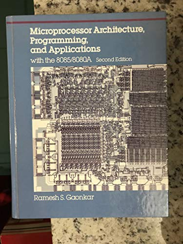 Microprocessor Architecture, Programming, and Applications With the 8085/8080A (Merrill's International Series in Electrical and Electronics Technolo) (Red Wing Mens Iron Ranger 6 Boot)