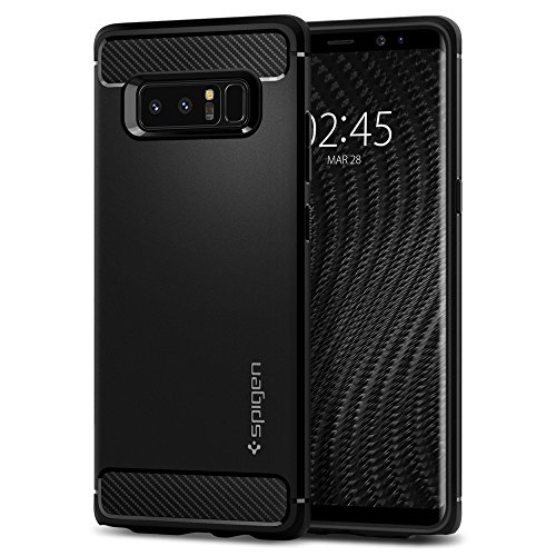 Spigen Rugged Armor Designed for Samsung Galaxy Note 8 Case (2017) - Matte Black