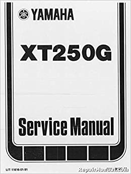 RLIT-11616-01-91 1980-1982 Yamaha XT250 Motorcycle Repair ... on