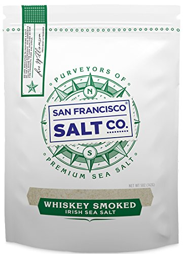 Whiskey Smoked Irish Sea Salt (5 oz. Pouch)
