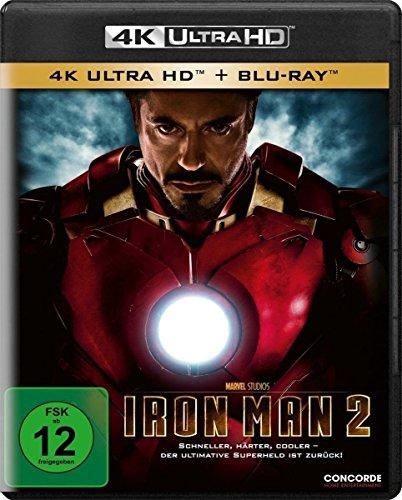 Iron Man 2 [4K Ultra HD] [Blu-ray]