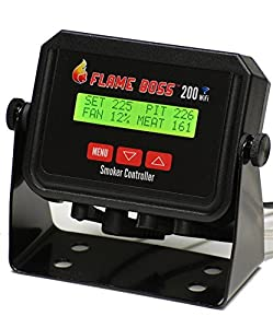 Flame Boss 200-WiFi Universal Grill & Smoker Temperature Controller by legendary Flame Boss