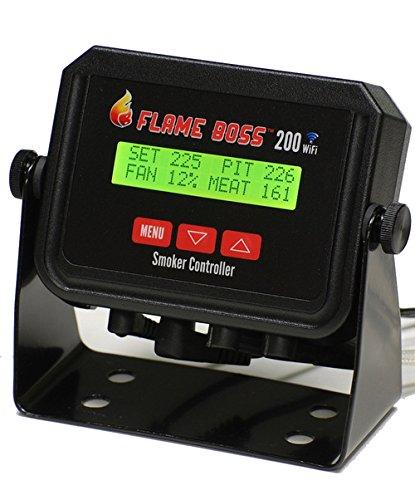 Flame Boss 200-WiFi Universal Grill & Smoker Temperature Controller