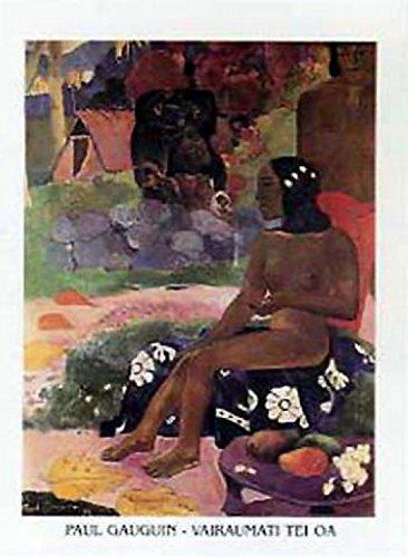 Posters: Paul Gauguin Poster Art Print - Vairaumati Tei Oa