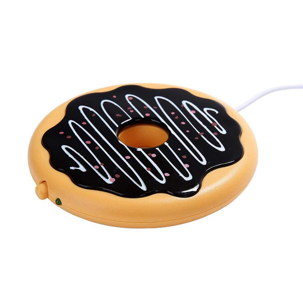 Arvin87Lyly Chauffe Caf/é USB Chauffe Tasse,Chauffe Tasse /Électrique,Chauffe Tasse Thermique De Bureau Dessous De Tasse Cup Warmer pour Le Bureau /À La Maison