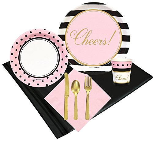Cheers Lunch Napkins (Cheers to You! Party Supplies - Party Pack for 16 Guests)