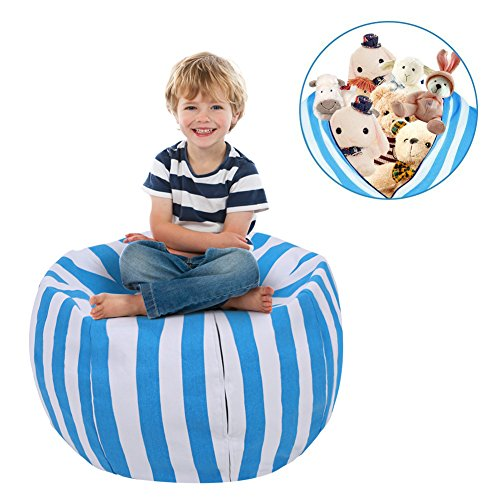 Excellent Handle - Ejoyous Kids Stuffed Animal Storage Bean Bag Chair 38