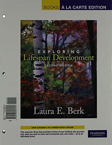 Exploring Lifespan Development, Books a la Carte Edition (with MyDevelopmentLab CourseCompass -- Access Card Package (2n