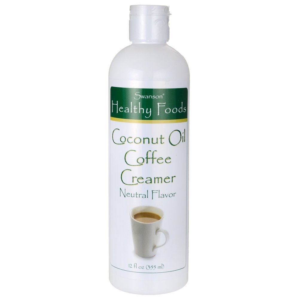 Swanson Coconut Oil Coffee Creamer 12 fl Ounce (355 ml) Liquid by Swanson