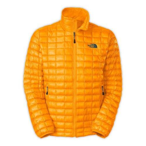 The North Face Men's ThermoBall Full Zip Insulated Jacket, Zinnia Orange, X-Large by The North Face