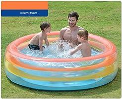 LYM & bañera Plegable Niños Piscina para niños, niños Jardín al ...