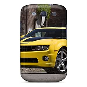 New Yellow Chevrolet Camaro Camaro Ss Tpu Skin Case Compatible With Galaxy S3