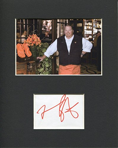 Mario Batali Food Network TV Iron Chef The Chew Signed Autograph Photo Display from HollywoodMemorabilia