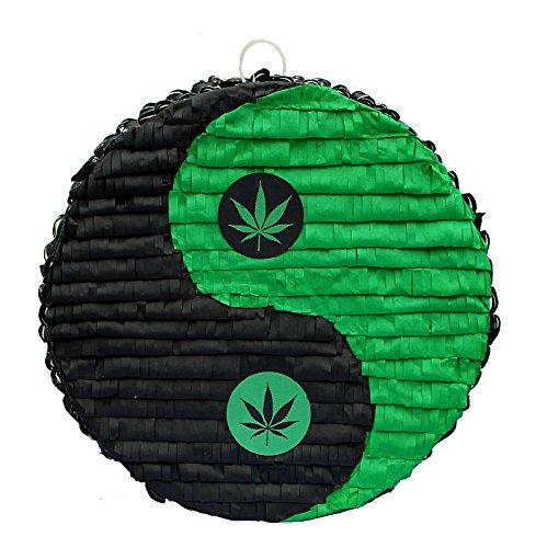 Weed Yin-Yang Pinata by Aztec Imports, Inc.