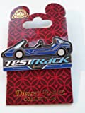 Disney Parks WDW Epcot New Blue Test Track Car Pin