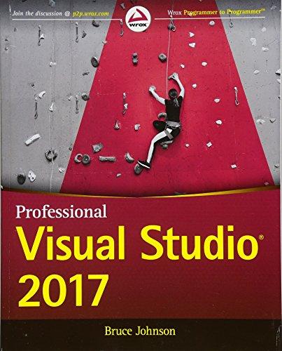 Professional Visual Studio 2017 by Wrox