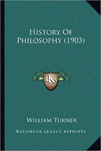Book History Of Philosophy (1903)