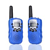 Walkie Talkie for Kids, Baofeng BF-T3 Child Handheld Walkie Talky, 22 Channel FRS/GMRS Two-Way Radio Transceiver For kids & Youth, Outdoor Radios(2 PCS Bule)