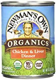 Newman's Own Organics Chicken and Liver Grain-Free Food for Dogs - 12.7-Ounce (Pack of 12)