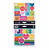 Illustrated Faith  - Stickers - His Name