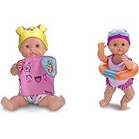 Nenuco Juguetón, Muñeco Interactivo 5 Juegos, Color/Modelo Surtido + Nadador, Este Divertido Juguete Nada como Un Bebé…