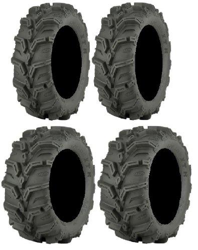 (Full set of ITP Mud Lite XTR (6ply) 27x9-12 and 27x11-12 ATV Tires (2))