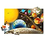 """Melissa & Doug Solar System Floor Puzzle (Floor Puzzles, Easy-Clean Surface, Promotes Hand-Eye Coordination, 48 Pieces, 36"""" L x 24"""" W): more info"""