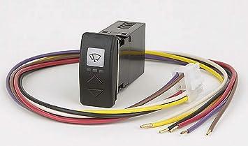 MarinersWarehouse Exalto CT41 Interruptor de Control de limpiaparabrisas electrónico Compacto y de función Completa para un