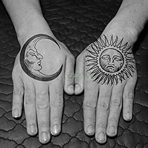 Handaxian 5 Piezas Etiqueta de Tatuaje a Prueba de Agua Rosa ...