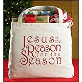 Set of 6 Large Jesus is the Reason… Tote Bag
