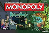 Monopoly Rick and Morty Board Game   Based on the hit Adult Swim series Rick & Morty   Offically Licensed Rick Morty Merchandise   Themed Classic Monopoly Game