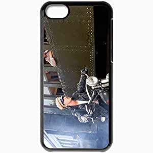 Personalized iPhone 5C Cell phone Case/Cover Skin Indy 4 movies Black
