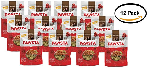 Pack of 12 - Rachael Ray Nutrish Pawsta Dog Treats, Riggies