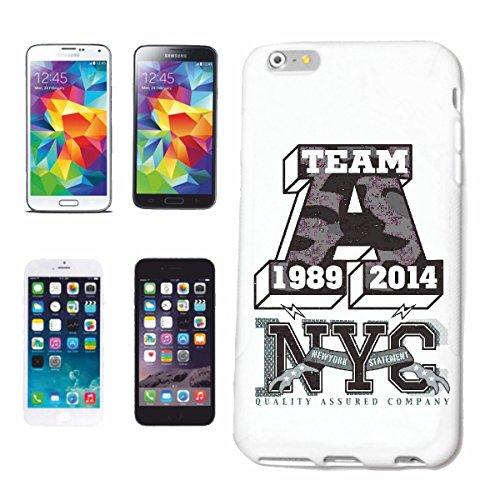 caja del teléfono iPhone 7+ Plus UN EQUIPO DE NEW YORK NEW YORK América California EE.UU. RUTA 66 CAMISA motorista de la motocicleta de NEW YORK NY LIBERTAD DE LOS ESTADOS UNIDOS DE BRONX BROOKLYN LO