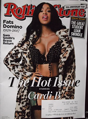 Rolling Stone Magazine November 16 2017 (50 th Anniversary Issue )The Hot Issue starring Cardi B