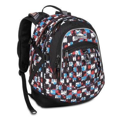 High Sierra 2382-Cubic Inches Fatboy Daypack (Grunge Checker, - Sierra Sling High