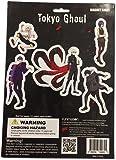 Tokyo Ghoul: Kaneki, Touka, Ayato, Shuu and Juuzou Group Magnet Collection Sheet