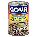 Goya Refried Pinto Beans 16.0 oz(Pack of 4)
