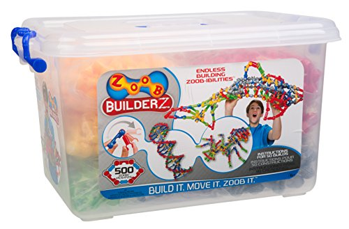 ZOOB BuilderZ 500 Piece Kit (Science Experiments In The Tub compare prices)