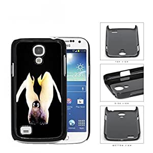 Penguins Father And Child Hard Plastic Snap On Cell Phone Case Samsung Galaxy S4 SIV Mini I9190