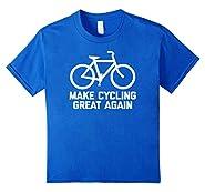 Make Cycling Great Again T-Shirt funny saying bike bicycle