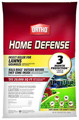 Ortho 0167210 Home Defense Insect Killer for Lawns Granule