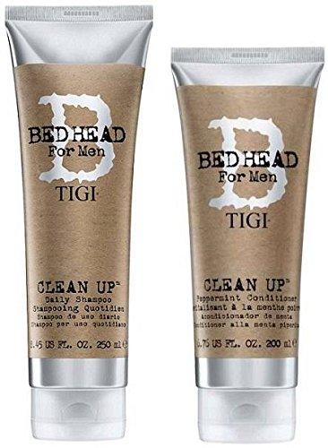 Tigi Conditioner Thickening (Tigi Bed Head Men Clean Up Combo Shampoo 8.45 Oz. Conditioner 6.76 Oz)