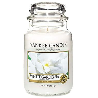 Yankee Candle Large Jar Candle, White Gardenia - 1230624