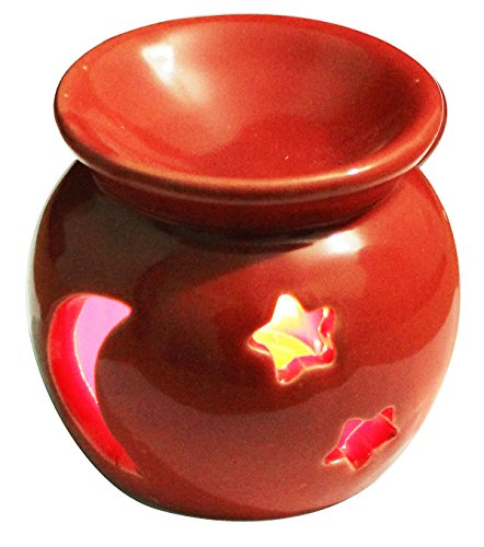 Black Friday Deals Cyber Monday Deals - Red Ceramic - Essential Oil Diffuser, Great Decoration for Living Room, Balcony, Porch & Garden