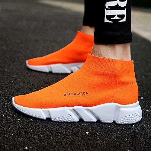 Deportivas Femeninas S176 Calcetines Unisex De Orange Exteriores amp;g Correr Zapatillas Para Mujer Transpirables Jogging Ngrdx Malla qUwSa